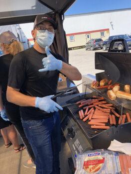 Dîner Hot-dog Juillet 2020